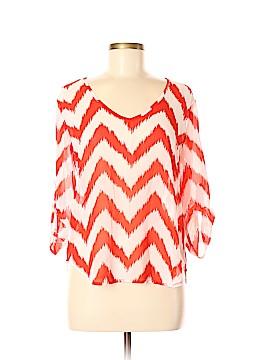 Heart Soul 3/4 Sleeve Blouse Size M