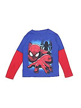 Marvel Long Sleeve T-Shirt Size 4