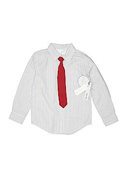 Koala Kids Long Sleeve Button-Down Shirt Size 5T