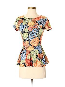 Moss Short Sleeve Top Size S