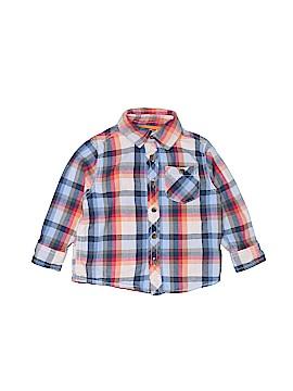 Joe Fresh Long Sleeve Button-Down Shirt Size 2