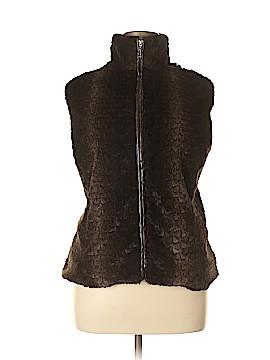 Erin London Faux Fur Vest Size XL