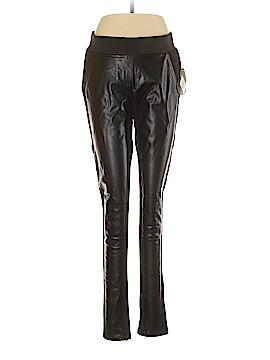 Abbey Dawn Faux Leather Pants Size L