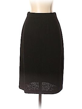 St. John Caviar Wool Skirt Size 2