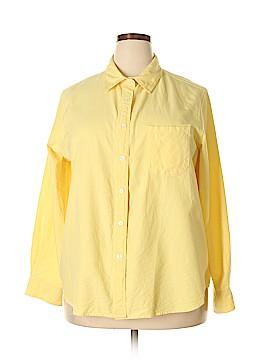 JG HOOK Long Sleeve Button-Down Shirt Size 20 (Plus)