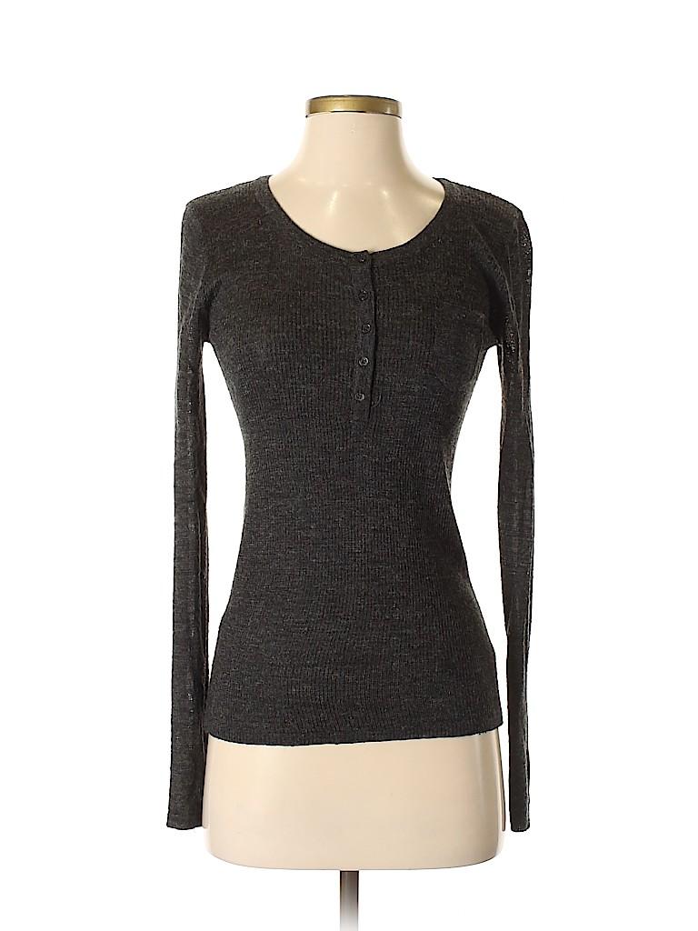 Unbranded Women Long Sleeve Henley Size 2
