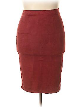Ultra Teeze Casual Skirt Size 1X (Plus)