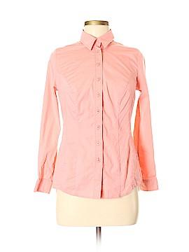 Pepperberry Long Sleeve Button-Down Shirt Size 8