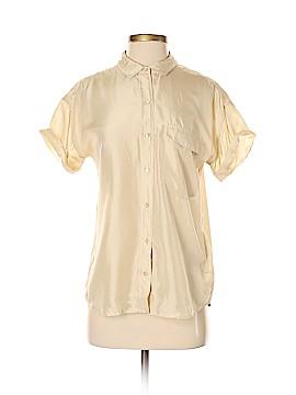Everlane Short Sleeve Silk Top Size S