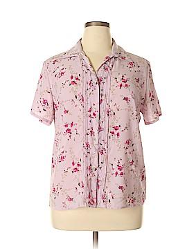 Covington Outlet Short Sleeve Blouse Size 16