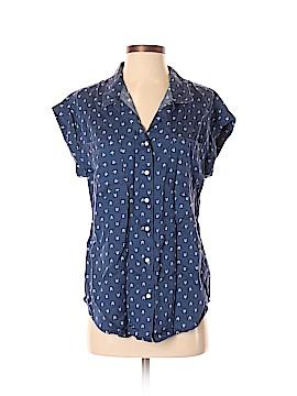 Jach's Girlfriend Short Sleeve Button-Down Shirt Size S