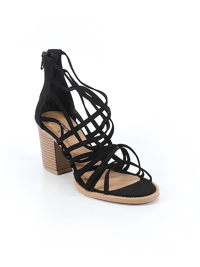 85215ec51d90b SODA Solid Black Heels Size 8 - 53% off