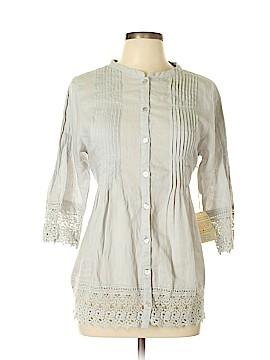 Subtle Luxury 3/4 Sleeve Blouse Size M