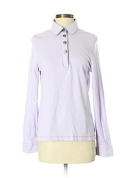 Saint James Long Sleeve Polo Size S