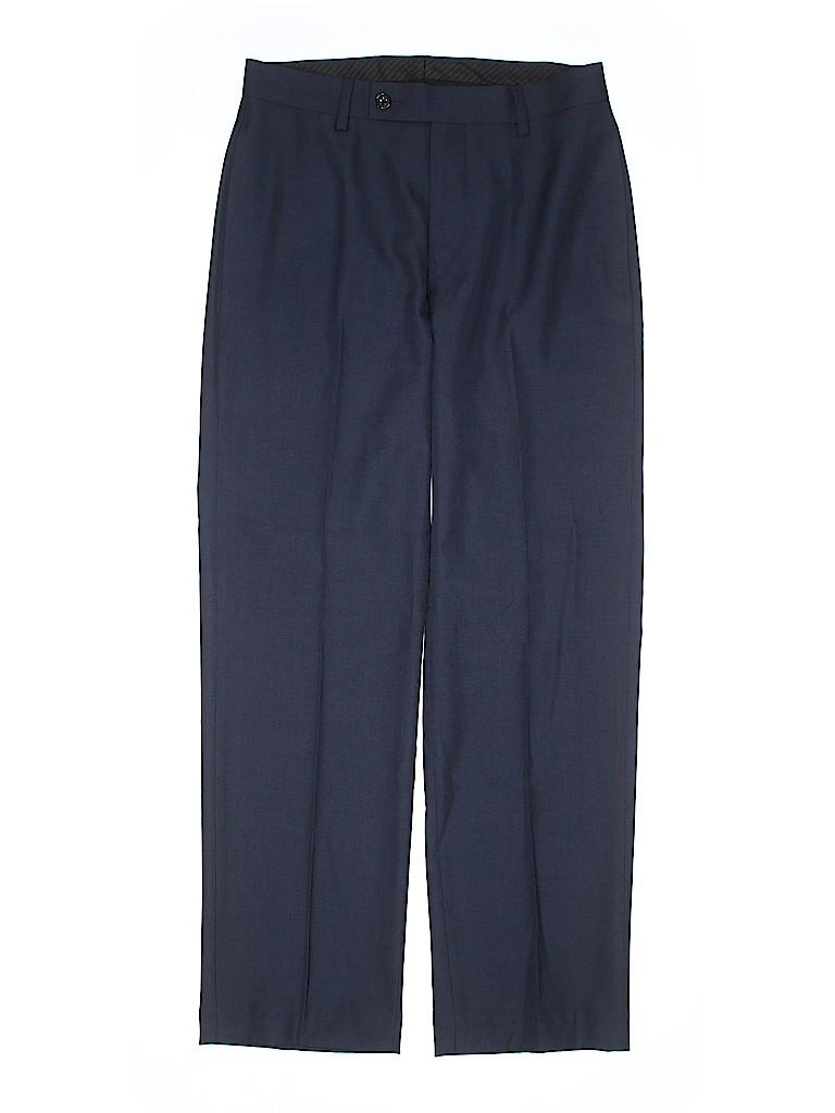 2a8113fabc07 Calvin Klein Solid Dark Blue Dress Pants Size 14 - 72% off