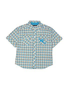 Rocawear Short Sleeve Button-Down Shirt Size 5 - 6