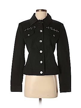 St. John Sport Denim Jacket Size S