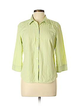 G.H. Bass & Co. Long Sleeve Button-Down Shirt Size L