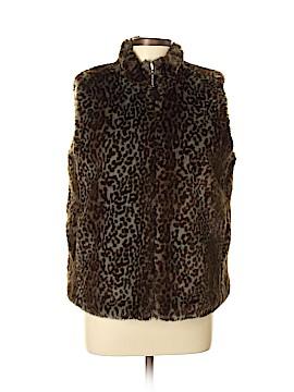 Guess Faux Fur Vest Size L