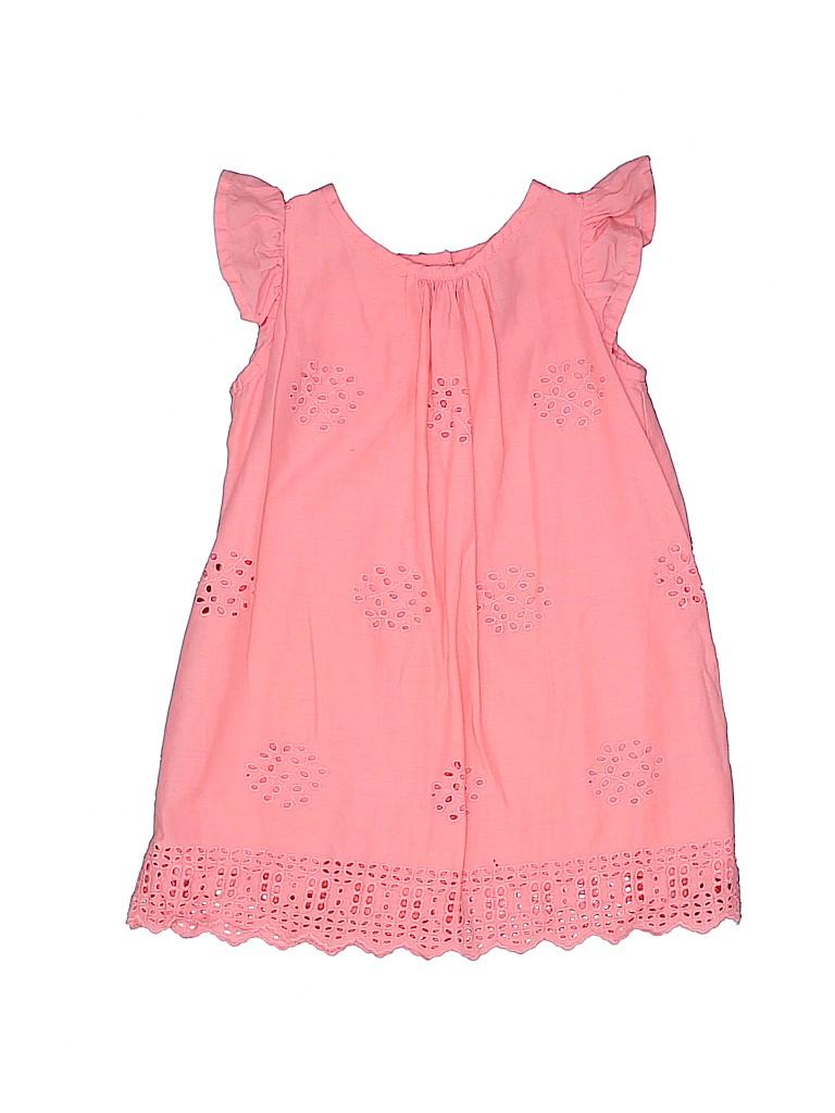 f1aea0b6f2c53 Baby Gap 100% Cotton Solid Light Pink Dress Size 6-12 mo - 65% off ...
