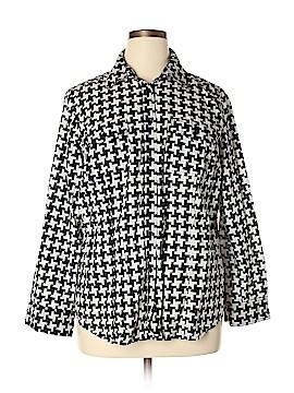 MICHAEL Michael Kors Long Sleeve Button-Down Shirt Size 1X (Plus)