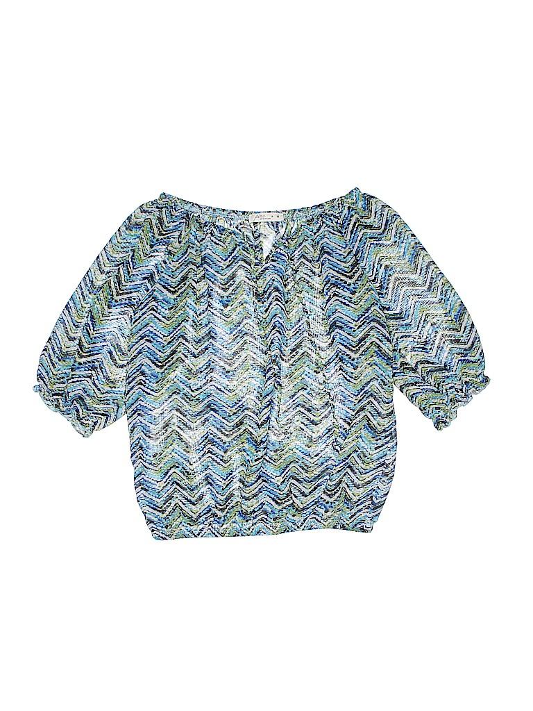 Pinc Premium Girls 3/4 Sleeve Blouse Size M (Youth)