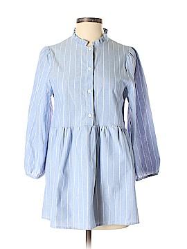 Orange Creek Long Sleeve Button-Down Shirt Size S