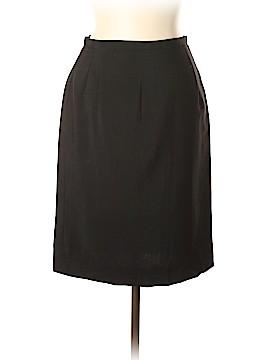 Luciano Barbera Wool Skirt Size 46 (IT)