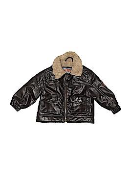 Hawke & Co. Faux Leather Jacket Size 12 mo