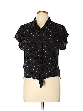 Harper Short Sleeve Button-Down Shirt Size L