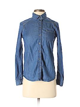 Hive & Honey Long Sleeve Button-Down Shirt Size XS