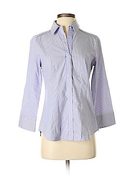 White House Black Market 3/4 Sleeve Button-Down Shirt Size 4
