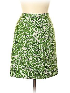 Ann Taylor LOFT Silk Skirt Size 12 (Petite)