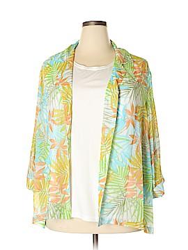 Cathy Daniels Long Sleeve Blouse Size 2X (Plus)