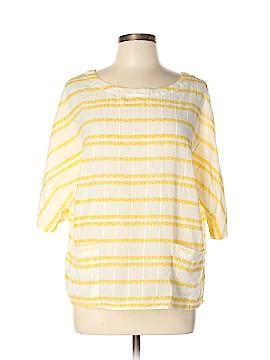 Caslon Short Sleeve Blouse Size XL