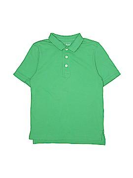 L.L.Bean Short Sleeve Polo Size 7