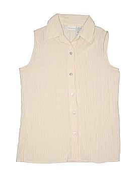 White Stag Sleeveless Blouse Size S