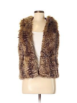 Mossimo Faux Fur Vest Size M