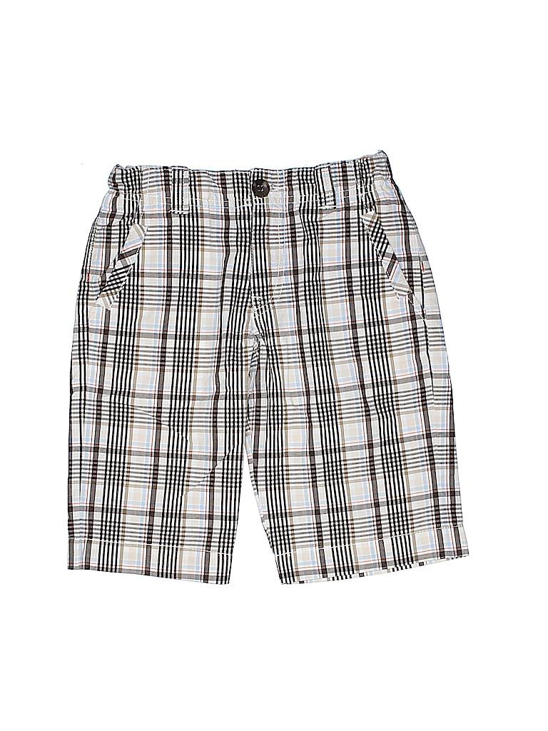fc8384e2acb2a Jacadi 100% Cotton Plaid Tan Shorts Size 6 - 68% off | thredUP
