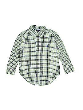 Ralph by Ralph Lauren Long Sleeve Button-Down Shirt Size 2T
