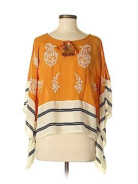 Floreat Short Sleeve Blouse Size M