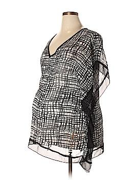 Motherhood Short Sleeve Blouse Size XL (Maternity)