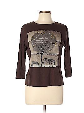Jess & Jane Long Sleeve T-Shirt Size L