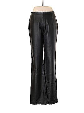 Oleg Cassini Faux Leather Pants Size 8