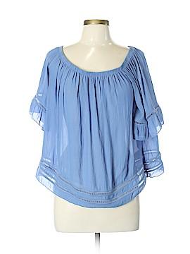 Mono B 3/4 Sleeve Blouse Size L
