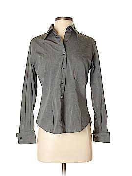 Eddie Bauer Long Sleeve Button-Down Shirt Size 4 (Petite)