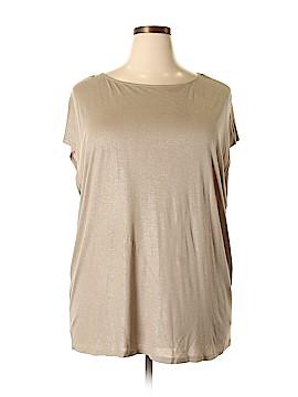 Lauren by Ralph Lauren Short Sleeve T-Shirt Size 3X (Plus)