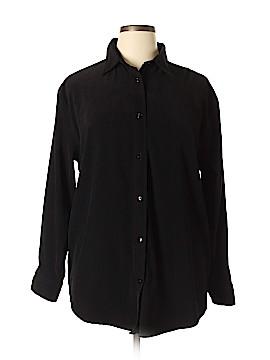 Bill Blass Jeans Long Sleeve Blouse Size XL