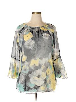 Parsley & Sage Long Sleeve Blouse Size 1X (Plus)