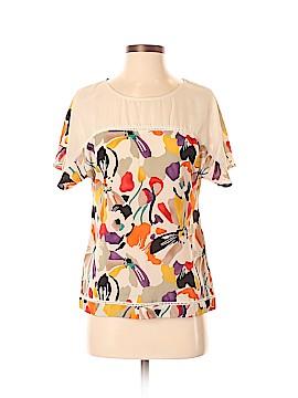 BCBG Paris Short Sleeve Blouse Size XS